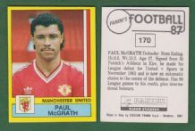Manchester United Paul McGrath Eire 170